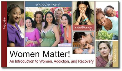 SAMHSA Women Matter Series Banner