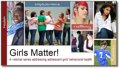 SAMHSA Girls Matter! Series Banner